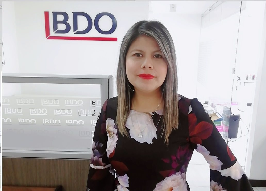 Evelyn Mosquera , Gerenfoque BDO Outsourcing, Gerente Técnico